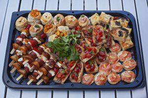Buffet Platter of Food